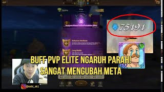 Bahas buff di PVP Elite. Sangat mengubah meta - Poker Deadly Sins grand cross