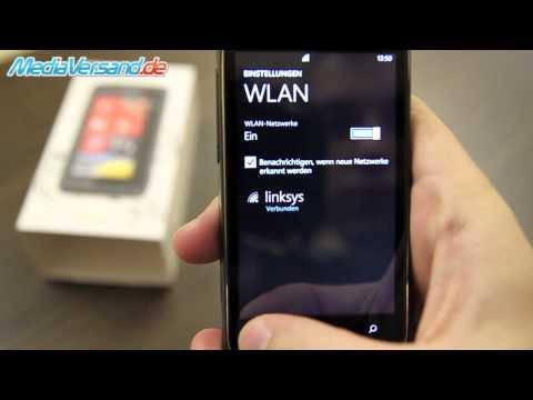 HTC 7 Trophy Einblick Handy Telefon Mobile
