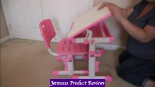 Best Choice Products Height Adjustable Children's Desk Reviews