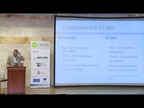 SEE 6 : Internet Market in Montenegro Vitomir Dragas, EKIP Montenegro