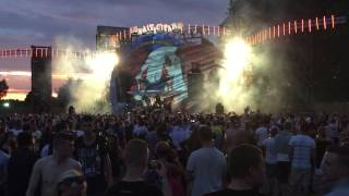 Danger hardcore Team live at the Qontinent 2015 Intro and first Track!