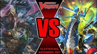 Zodiac Time Beast Vs Vanquisher - Cardfight Vanguard Playtesting November 2017