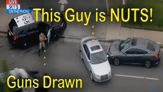 Los Angeles, Police Chase, LAPD CHP. May 1, 2018