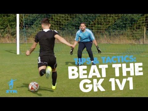 Goal Scoring Tips - Beat GK 1 v 1 - Real Game Tips & Tactics