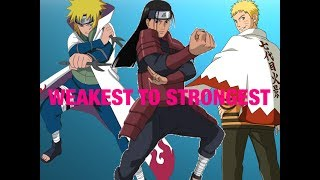 Naruto - Ranking the Hokage from weakest to strongest