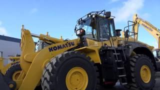 Komatsu WA 500 Wheel Loader-world's best wheel loader- Big Machines-duże maszyny