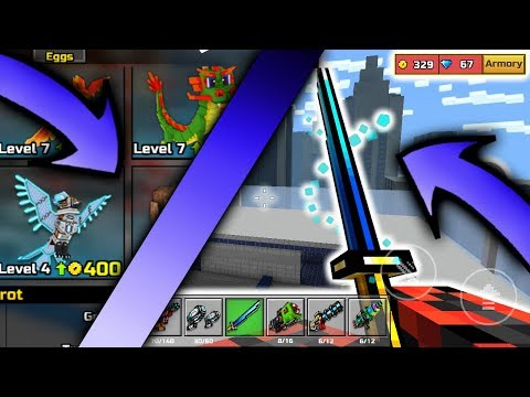 Pixel Gun 3D~ Hack Lvl38 All Clan Weapons, Last Samurai Swarmer All Pets And More!