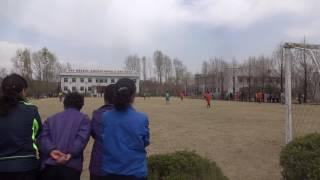 North Korea: Football Game at Factory in Sinuiju サッカー( 新義州の工場にて) thumbnail
