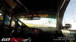 Ian Baas in the APR Motorsport B8 S4 3.0 TFSI at Daytona