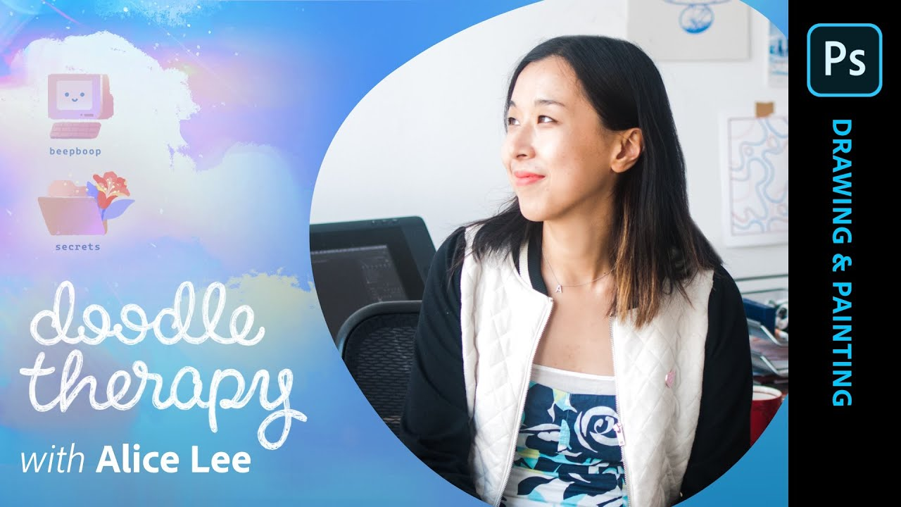 Doodle Therapy with Alice Lee: Painting Landscapes - 1 of 2