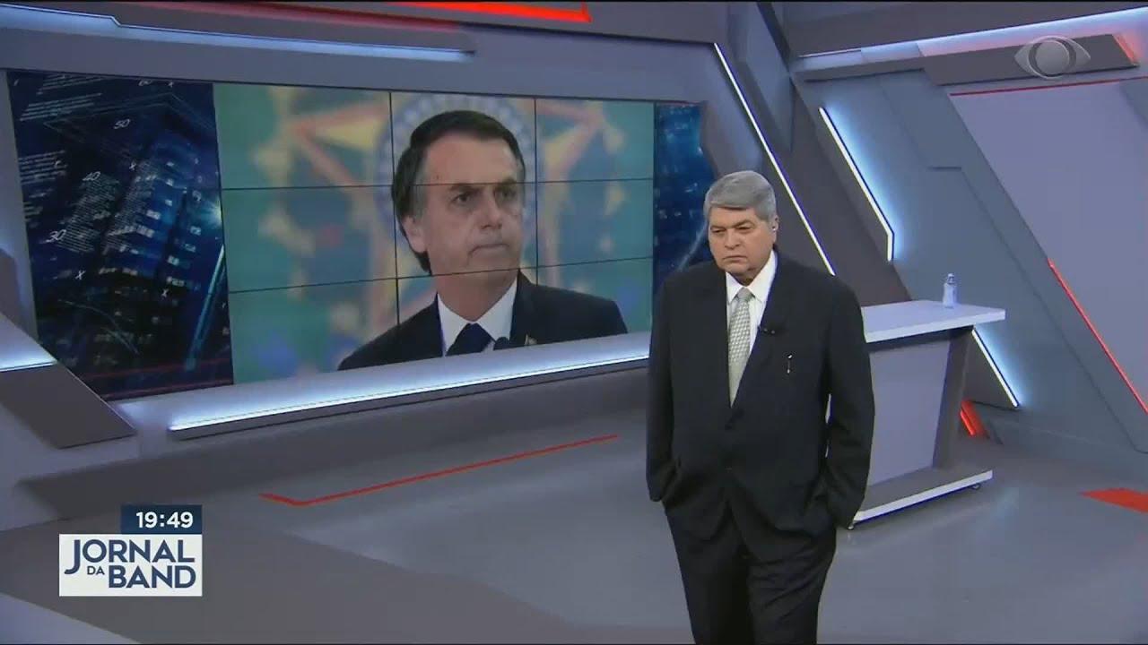 Bolsonaro fala em quarentena abusiva durante entrevista ao Datena