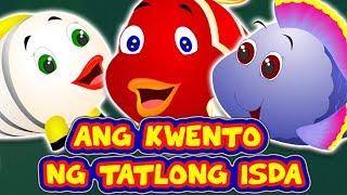 Tagalog Fairy Tales | Ang Kwento ng Tatlong Isda | Mga Kwentong Pambata | Filipino Moral Story Kids