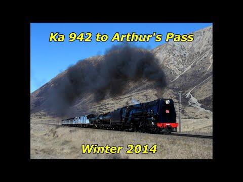 Ka 942 to Arthur's Pass Winter 2014 (HD)