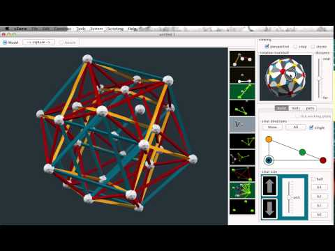 Generating 4D polytopes with vZome