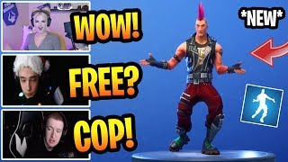 STREAMERS REACT TO NEW FREE HOT MARAT EMOTE/DANCE! FORTNITE BEST MOMENTS