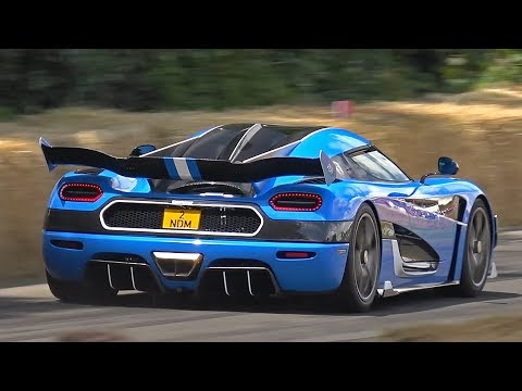 1160HP Koenigsegg Agera RSN Lovely Exhaust Sounds @ Goodwood Festival Of Speed