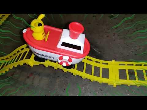 Toreba Pikachu Train win and Un-Boxed