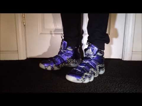 adidas crazy 8 nightmare before christmas onfeet youtube - Adidas Crazy 8 Christmas