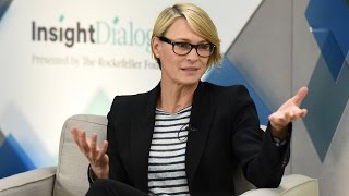 'Making Noise': Robin Wright and the Path Towards Global Equality | Insight Dialogues