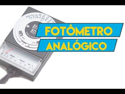 Câmera Velha #15 Fotômetro Analógico