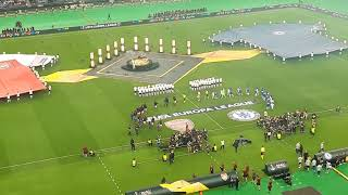 UEFA Europa League final 2019 Baku - The players entering the pitch