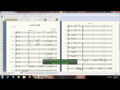 Lets Go 2k Arranged By Kevin Lopez for Marching Band Sheet Music