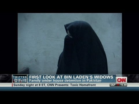First look at bin Laden's widows