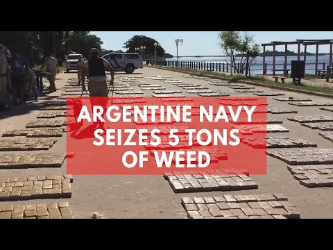 Argentine Navy makes biggest cannabis bust in country's history