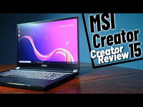 Is the MSI Creator 15 really for Creators?