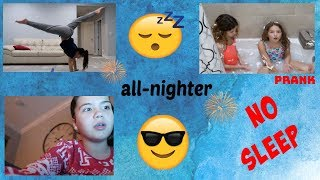 ALL NIGHTER CHALLENGE / TRYING TO STAY AWAKE ALL NIGHT | IT'S ME ALI