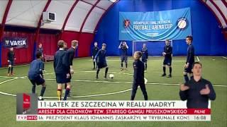 11-latek z Pogoni Szczecin w Realu Madryt