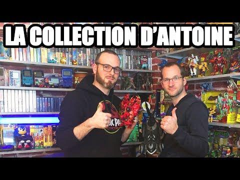LA COLLECTION DE FIGURINES ET JEUX VIDEO D'ANTOINE !