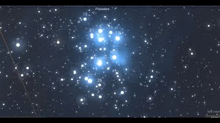 Pleiades and Orion in The Bible