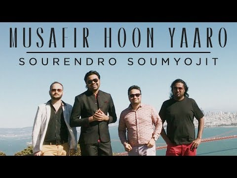 Musafir Hoon Yaaron | Sourendro - Soumyojit | Acapella | Old Hindi Songs