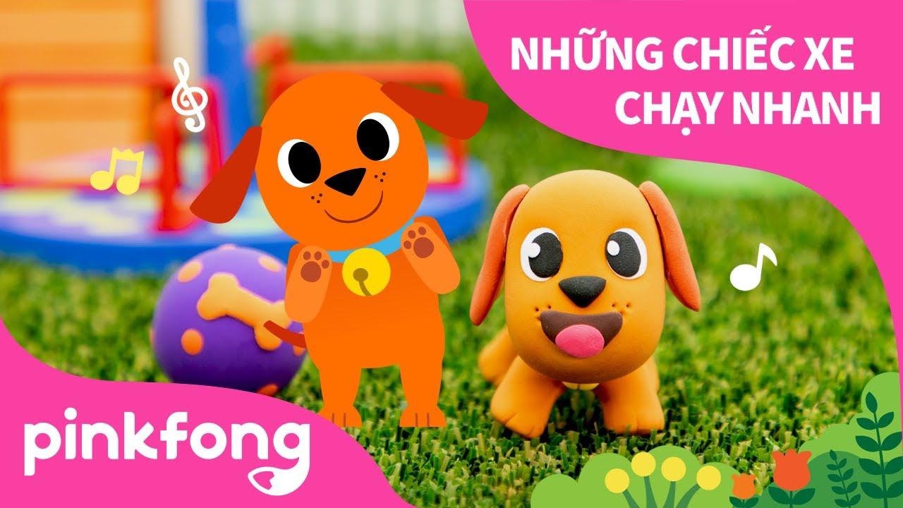 Thú Cưng Là Bạn Bè và làm Cún yêu bằng đất sét   Pinkfong! Những bài hát cho trẻ em