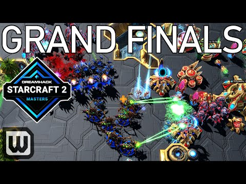 Starcraft 2 Grand Finals: Serral (Zerg) vs Trap (Protoss) - DreamHack Masters Last Chance