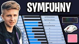 NRG SymFuhny Fortnite Settings, Keybinds and Setup (Season 9)