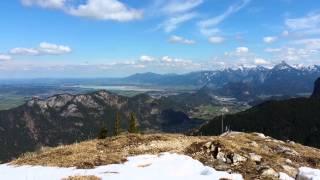 Allgäu Mountain Views  Breitenberg Germany (Alpen in 4K)
