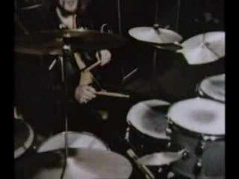 Ginger Baker drum clinic 1968