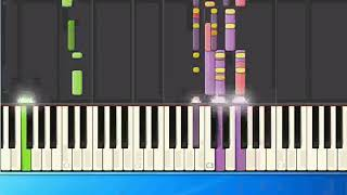 [Piano Tutorial Synthesia]Hank Williams - Half as much (ge)