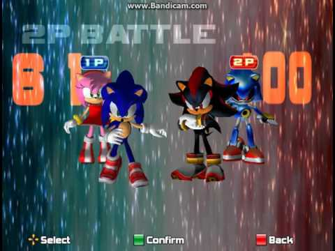 Sonic Adventure 2 Battle Cheat - 2 Players in Chao World