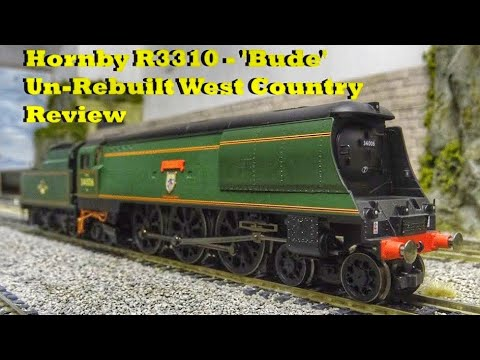 Hornby R3310 - 'Bude' Un-Rebuilt West Country Review