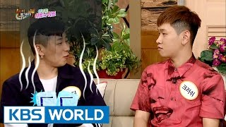 Dinspatch, Crush recently broke up? [Happy Together/2016.09.01]