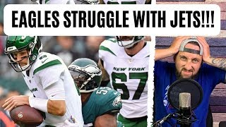 The Philadelphia Eagles have a MAJOR PROBLEM. | Eagles vs Jets Rant