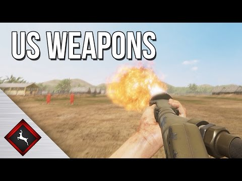 Rising Storm 2 Vietnam - US Weapons Preview