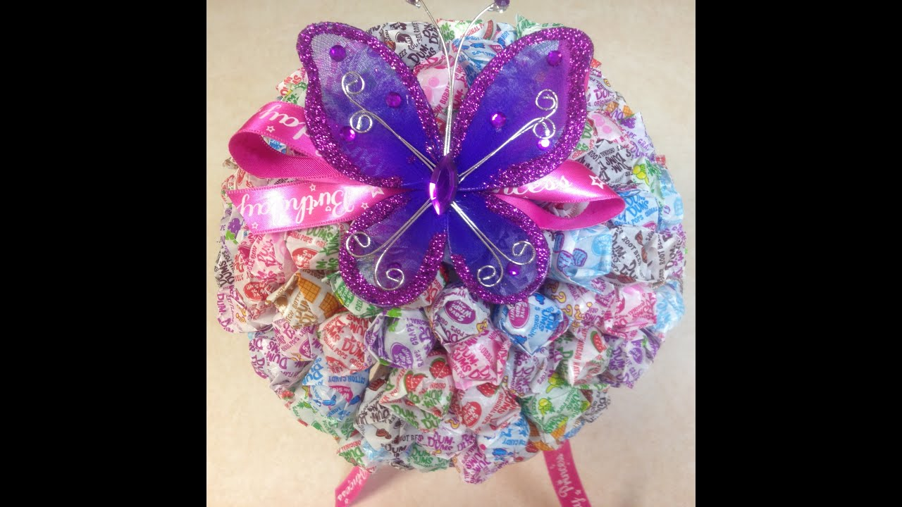 Candy Bouquet DIY: How To Make A Dum-Dum Lollipop Topiary