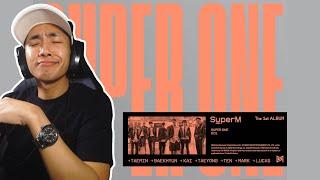 Reacting to SuperM's 'Super One' Album