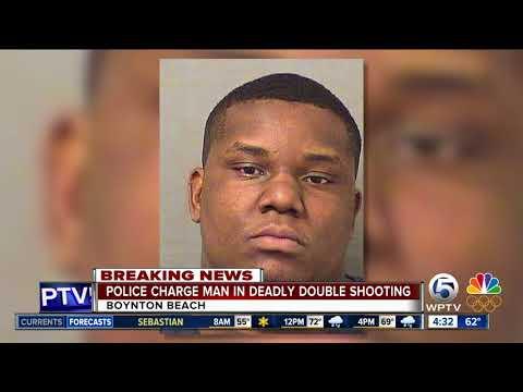 Man charged in Boynton Beach double shooting