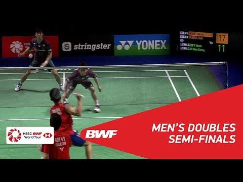 MD | INOUE/KANEKO (JPN) [6] vs GOH/TAN (MAS) | BWF 2018