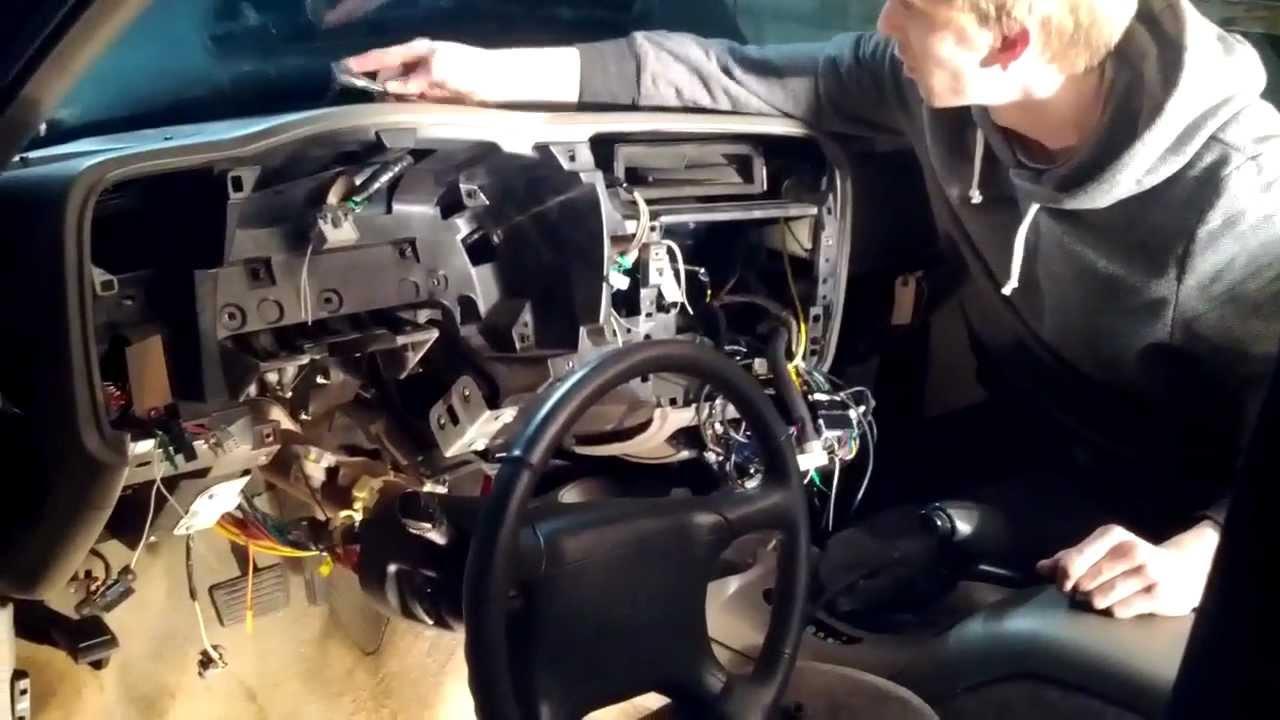 Blazer Radio Wiring Diagram 98 Gmc Jimmy Heater Core Replacement Video Diary Youtube